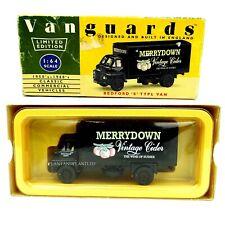 Vanguards Classic Commercial Vehicles Bedford S Type Van VA8005 Merrydown Cider