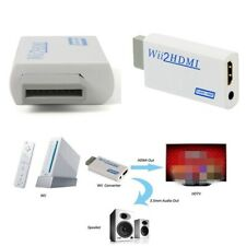 Wii to HDMI Adapter Converter HD 720P 1080P 3.5mm Audio Wii2 HDMI for HDTV TW