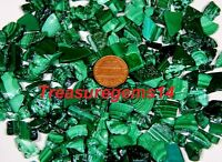 150Crt WHOLESALE LOT NATURAL MALACHITE TUMBLE ROCK ROUGH UNCUT POLISHED GEMSTONE