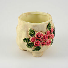 New Small Pottery Flower Container Succulent Herb  Plants Pot with hole