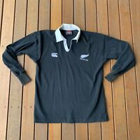 Vintage Size L Canterbury New Zealand Rugby Union All Blacks Jumper Jersey