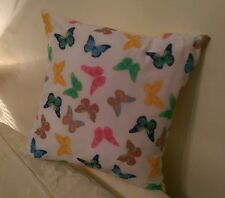 Spring butterfly cushion cover with cushion pad.