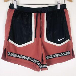 Nike Flex Dri-Fit Running Shorts CU5713-652 Reflective Trim Dri-Fit Mens Size M