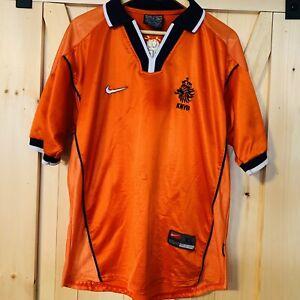 Vintage Nike Premier KNVB Soccer Football Jersey