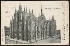 AX0671 Milano - Il Duomo - Cartolina postale - Postcard