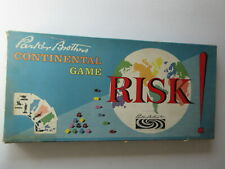 Original 1959 Parker Brothers RISK Continental Board Game, First Edition