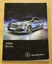 Genuine Mercedes Classe A W176 MANUALE DEL PROPRIETARIO MANUALE 2012-2015 LIBRO principale