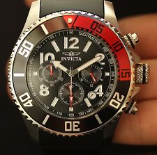 Invicta Mens Pro Diver Japanese TMI VD53 Chronograph Polyurethane Watch