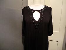 Next black beaded dress size 18