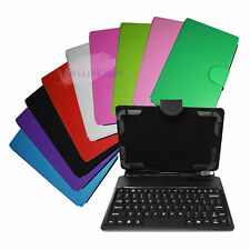 "HyperTab PU Leather Stand Cover Keyboard Case for 7"" Tablet Tab Android US Stock"