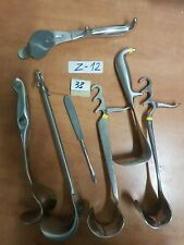 Orthopaedic And Other Medicalsurgical Instruments Lot Of 7