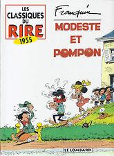 BD - Modeste et Pompon -  intégrale - EO -  1996 -TTBE - Franquin