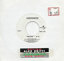 AEROSMITH ALEX BRITTI disco JUKE BOX PROMO 45 giri NP MADE in ITALY
