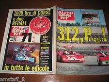 AUTOSPRINT 1972/7=DAYTONA FERRARI 312P=ALFA ROMEO 33TT3=