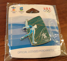 Vancouver 2010 Figure Skater Olympic Pin