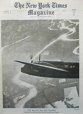 1940 WWII JULY 7 NY TIMES - RIVER THAMES - GRIM BRITAIN - NY TIMES - HOLLYWOOD