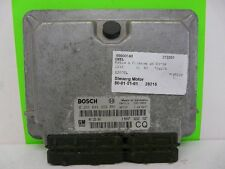 Motorsteuergerät BOSCH 0281001869 09133267 CQ Opel Astra G 2.0 DI 60kW X20DTL