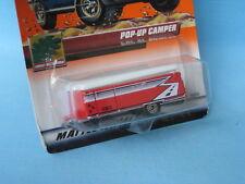 Matchbox Pop-Up Camper Tent Caravan RV Camping Toy Model Car 65mm Low