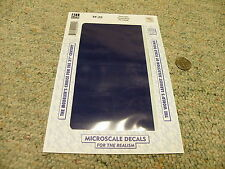Microscale  decals 1/72 1/48 1/32 TF-22 Trim film Royal Blue FS10556   C33