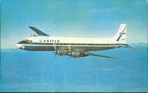 United Airlines DC 7 Mainliners