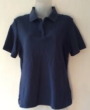 """greg norman blue polo shirt womens M approx 38"""" chest"""