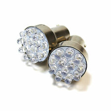 2x Si Adatta Nissan Navara d22 r10w Luminoso Xenon Bianco LED NUMERO TARGA LAMPADINE