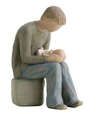 Willow Tree New Dad Resin Figurine Father Keepsake New Baby Ornament Gift Box