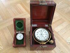 RARE Russian Soviet USSR marine chronometer and deck watch Kirov