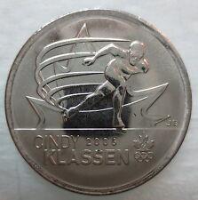 2009 CANADA 25¢ CINDY KLASSEN BRILLIANT UNCIRCULATED QUARTER