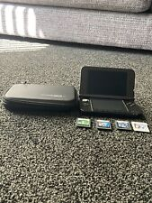 Nintendo SPRSBKAB 3DS XL Video Game Console - Blue With 4 Games, Charger, Case