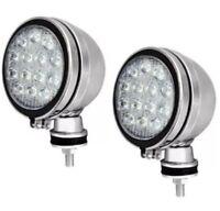 "2x 6"" LED CLEAR WHITE ANGEL EYE SPOT LIGHT FOG CAR SPOT LIGHTS 4x4 JEEP CAR VAN"