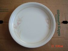 Staffordshire Tableware England Side Plate Beige Pink Flowers