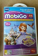 Vtech MobiGo Game Disney Sofia the First 3-5 Years Free Shipping