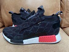 Adidas Mens NMD TS1 PK GTX Primeknit Gore Tex Black Red Sneaker BD8078 Size 11