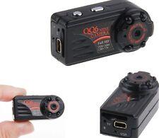 QQ6 MINI DV VERSTECKTE KAMERA SPY CAM FULL HD 1080P MOTION DETECTION 32GB NEU A9