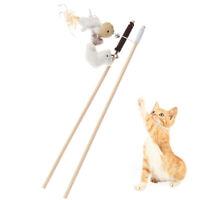 Haustier Katze Teaser Spielzeug Feder Leinen Zauberstab Katze Interaktives