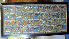 Ethiopian SOLOMON and SHEBA Story Board Large Colorful Original Oil Painting
