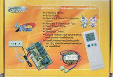 UNIVERSAL DUCTLESS MINI-SPLIT AC CONTROL SYSTEM W/REMOTE & SENSOR