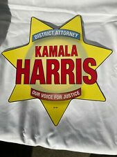 KAMALA HARRIS Vintage Election Poster and Printed Materials District Attorney Sa