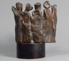 """Italy Italian Bronze Figural Sculpture """"Graffio Di Donne"""" by Umberto DEL NEGRO"""