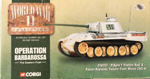 CORGI 1:50 CC60203 PzKpfw V PANTHER Ausf.A WINTER 1943-44. *MISSING ANTENNA*