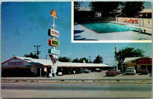 Deming, New Mexico Postcard WESTERN MOTEL Interstate 10 Roadside c1970s Unused
