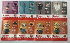 Kinder Surprise Despicable Me 3 Minions Stickers Complete Set 2017 Rare