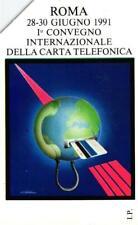 G 133 C&C 2190 SCHEDA TELEFONICA USATA ROMA 91 PRIMO CONVEGNO