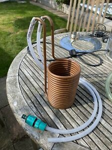 Immersion Wort Chiller Copper Coil Cooler Homebrew