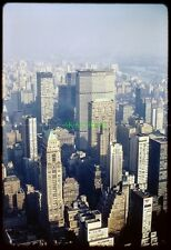 7 Original Slides NYC New York MANHATTAN SKYLINE Street Views 1967 Pan Am