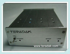TeraDak V2.7D DAC TDA1543 NOS DAC 96k/24bit COAXIAL /OPTICAL input USB DAC