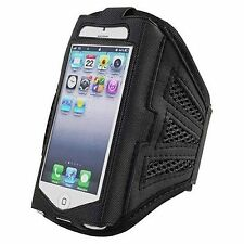 Premium Running Jogging Armband Black Case For Apple iPhone 4S 4 iPods