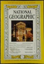 National Geographic magazine June 1960 No Map, France, Algeria, Smithsonian