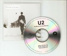 U2 - THE MIRACLE (OF JOEY RAMONE) - VERY RARE 3 TRACK NEW CD PROMO